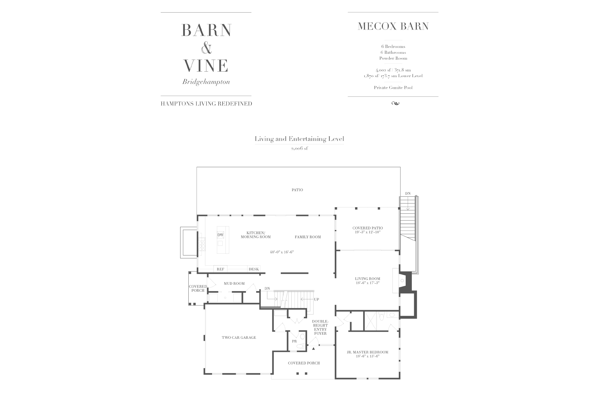 Additional photo for property listing at The Mecox Barn: New Construction At Barn & Vine, Bridgehampton 64  Birchwood Lane, (Lot 29, Mecox Barn),  Bridgehampton, New York